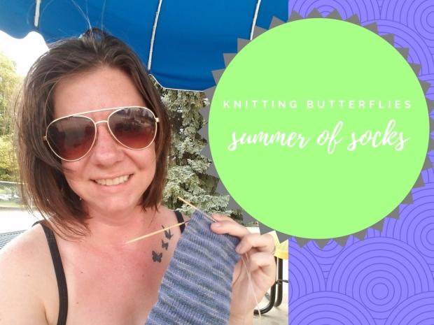 knittin butterflies