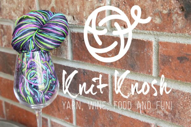 Knit Knosh Colorado Knitting Event Wine Food Yarn